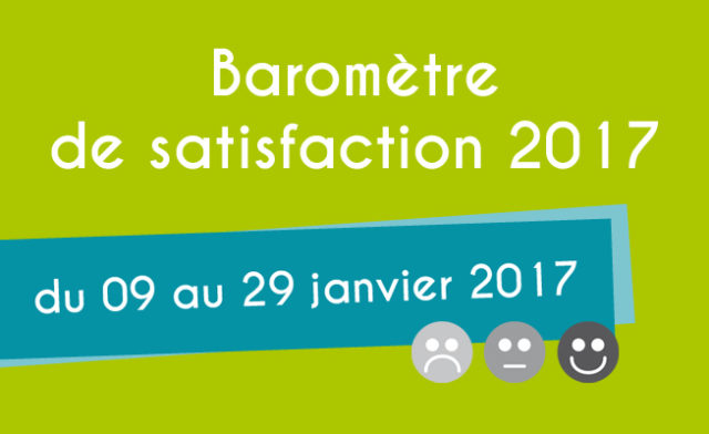 Launch of the 2017 edition of our satisfaction survey