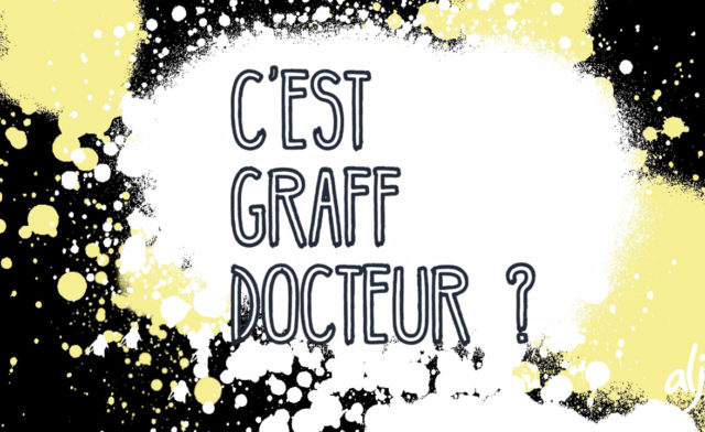 « C'est Graff Docteur »: Strong partnership between Vitry-sur-Seine and the l'ALJT