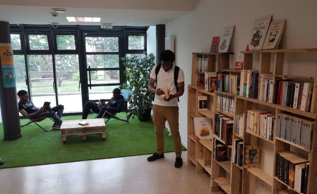 Un nouveau jardin de lecture sur la résidence