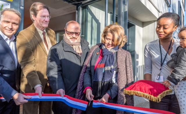 Inauguration de la résidence de Bondy