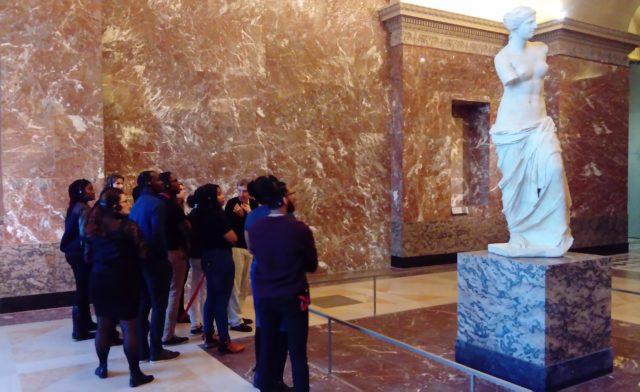 Visite des chefs d'œuvre du Louvre