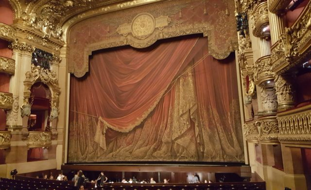 Sortie à l'Opéra