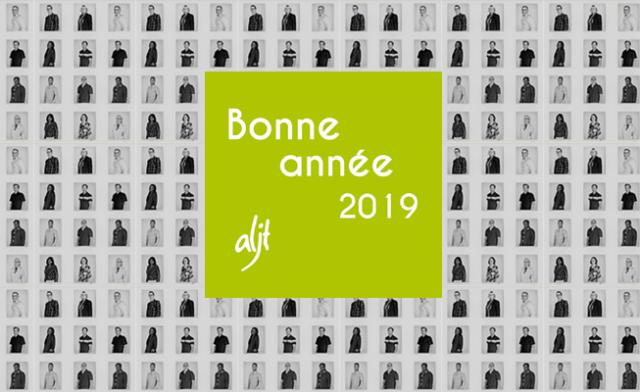 L'ALJT vous souhaite une bonne année 2019