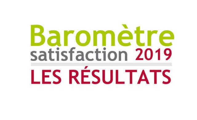 Les résultats du baromètre de satisfaction 2019