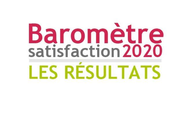 Les résultats du baromètre de satisfaction 2020
