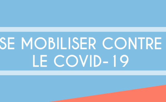 Se mobiliser contre le COVID-19